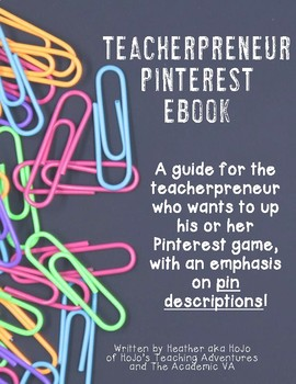 Pinterest Teacherpreneur eBook