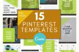 Pinterest Template \ 90s Vibes