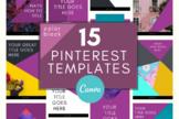 Pinterest Template \ Color Block