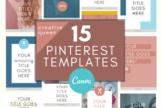 Pinterest Template \ Creative Queen