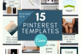 Pinterest Template \ Minimalista