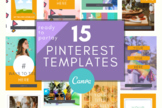 Pinterest Template \ Ready to PARTAY