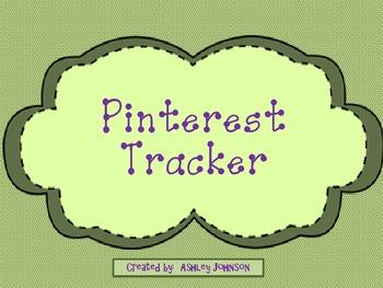 Pinterest Tracker