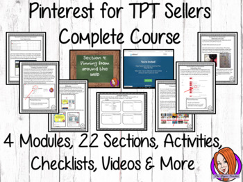 Pinterest for TPT Sellers – Complete Course