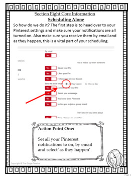 Pinterest for TPT Sellers – Section Eight: Scheduling Your Pins