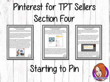 Pinterest for TPT Sellers – Section Four: Starting to Pin