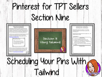 Pinterest for TPT Sellers – Section Nine: Scheduling With a Tool