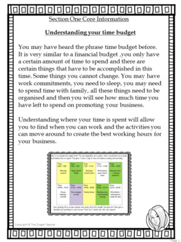 Pinterest for TPT Sellers – Section One: Working Out and Using Your Time Budget