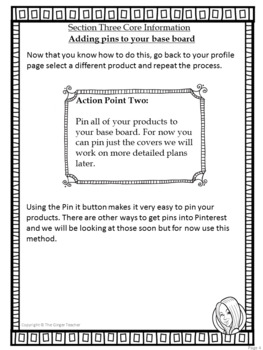 Pinterest for TPT Sellers – Section Three: Building Your Base Boards