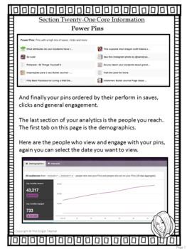 Pinterest for TPT Sellers – Section Twenty-One: Using Analytics