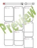 Pinterest inspired worksheet