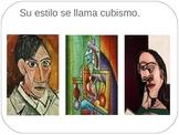 Pintores latinos y españoles + worksheet + Do Now + Closin