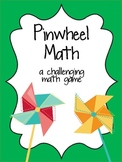 Pinwheel Math Challenge Game