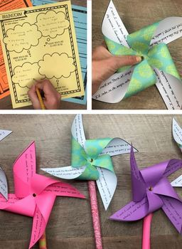 Pinwheel Poem - Free Poetry Lesson and Activity
