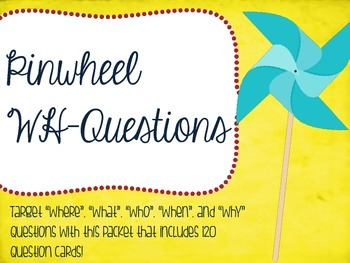 Pinwheel WH-Questions