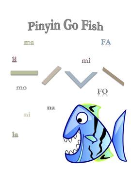 Pinyin Go Fish A I O