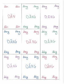 Pinyin Go Fish D T