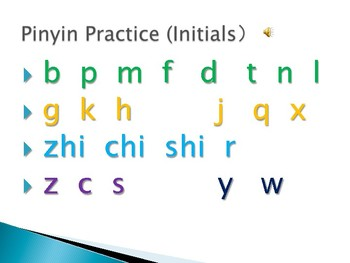 Pinyin Printables and Family Vocabulary With Pictures