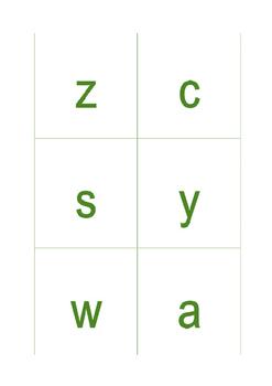Pinyin Template