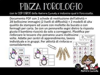Pinza l'Orologio - Time clip cards