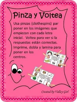 Pinza y Voltea: Silabas t o d