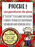 Pioche (Go Fish!) Pizza Toppings Game Ontario Core French/