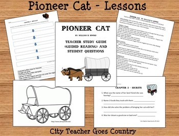pioneer cat guided reading lessons student chapter worksheets oregon trail. Black Bedroom Furniture Sets. Home Design Ideas