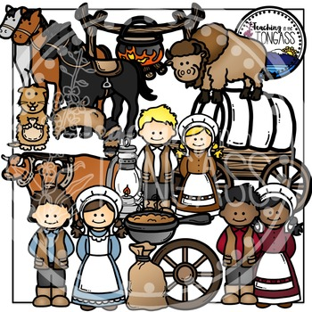 Pioneer Clipart | Oregon Trail Clipart