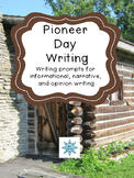 Pioneer Day Field Trip Writing