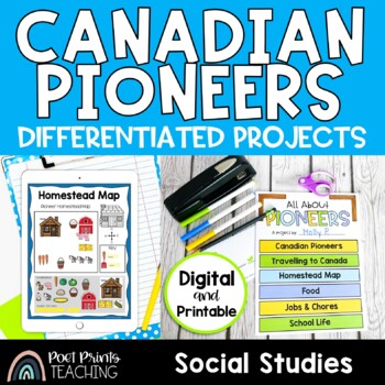 Pioneer Flip Book Project, History Interactive Notebook