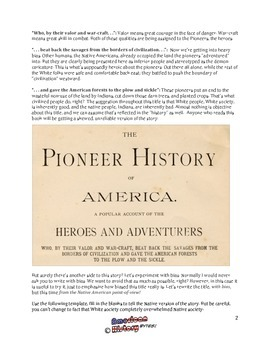 Pioneer History Book: An Exercise In Bias