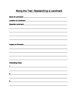Pioneer Journal Packet