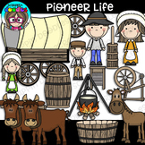 Pioneer Life Clipart {Scrappin Doodles Clipart}