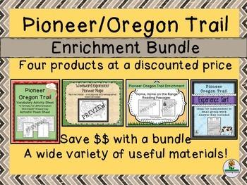Pioneer Oregon Trail Enrichment BUNDLE