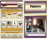 Pioneer PDF Unit  Student Mini Booklet - Jobs, Transportation, Origin, Tools,