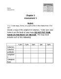 13 Colonies Project Rubric