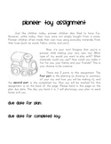 Pioneer Toy Project