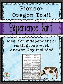 Pioneer Oregon Trail Experience