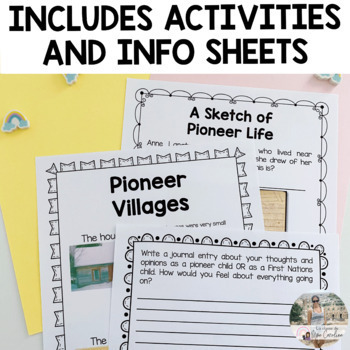Pioneers Activity Set - English Version *Based on the new Ontario Curriculum*