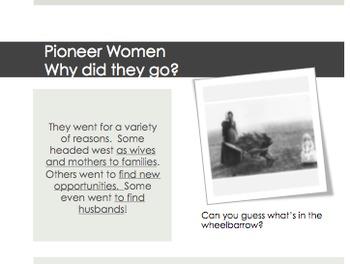 Pioneers - Legacies of Pioneer Women, Mormons, 49ers and Chinese