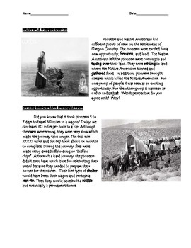 Pioneers_ Westward Expansion Expert Text High Intermediate Level Text