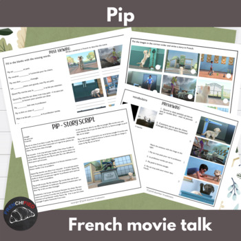 Pip - movie talk for French learners