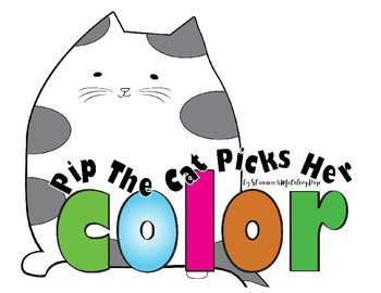 Pip the Cat Picks Her Color
