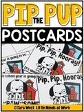 Pip the Pup Back to School Postcards | FREE DOWNLOAD |