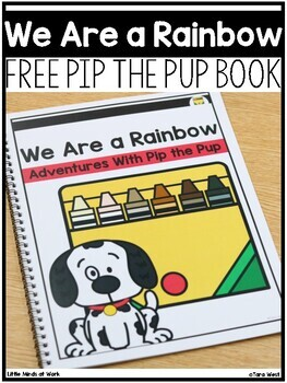 Pip the Pup: Together We Are a Rainbow of Possibilities  | FREEBIE DOWNLOAD |