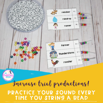Pipe Cleaner Articulation Station - Pre-vocalic R, R-blends, and Vocalic R