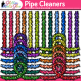 Pipe Cleaner Clip Art: STEM and Craft Supply Graphics {Glitter Meets Glue}