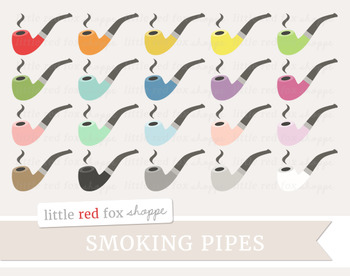 Pipe Clipart; Tobacco, Smoking, Cigar