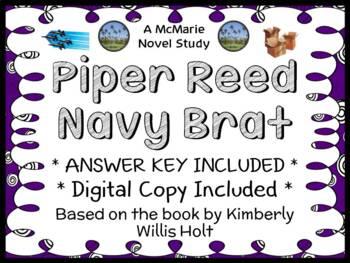 Piper Reed Navy Brat (Kimberly Willis Holt) Novel Study /