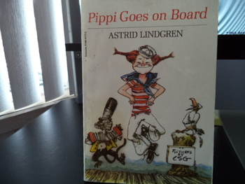 Pippi Goes on Board ISBN 0-590-41177-2